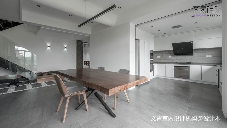 LOFT风格厨房餐厅设计餐厅
