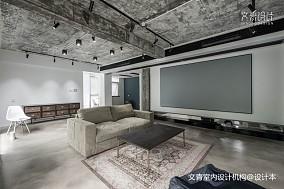 LOFT风格客厅背景墙设计