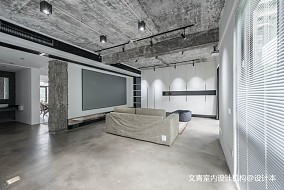 热门面积130平复式客厅装修实景图片