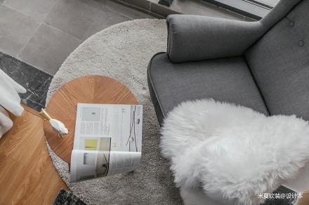 典雅67平北欧二居装修设计图
