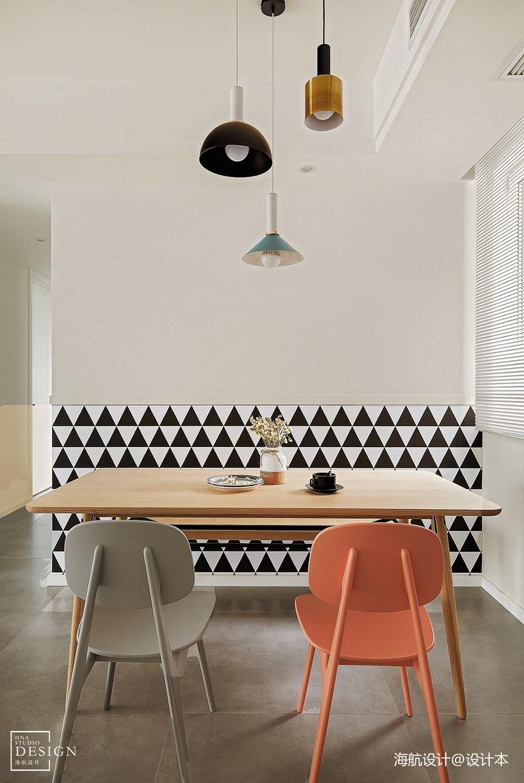 平凡的一天厨房北欧极简餐厅设计图片赏析