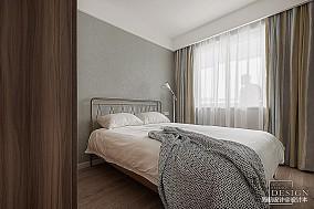 2018109平米三居卧室北欧装饰图片大全
