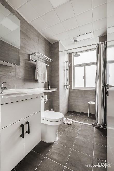 北欧风格卫浴干湿区设计卫生间