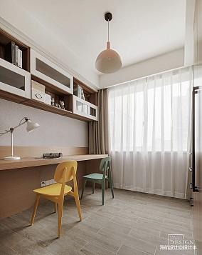 2018精选面积96平北欧三居书房装修设计效果图
