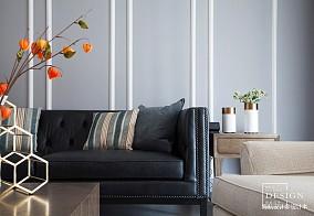 精美107平米三居客厅美式效果图片欣赏
