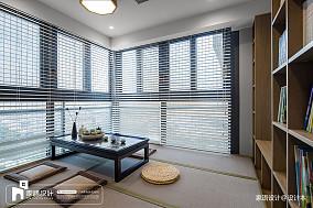 2018精选面积127平中式四居休闲区实景图片大全四居及以上中式现代家装装修案例效果图