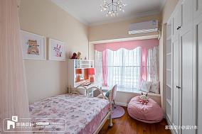 四居儿童房中式装修图片四居及以上中式现代家装装修案例效果图
