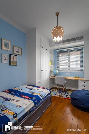 精选四居儿童房中式装修图片欣赏四居及以上中式现代家装装修案例效果图