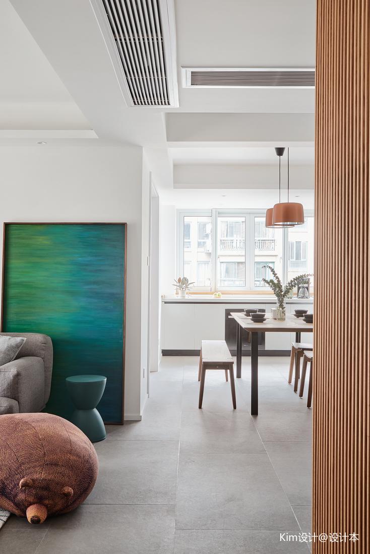 精选面积144平北欧四居餐厅装饰图厨房北欧极简餐厅设计图片赏析