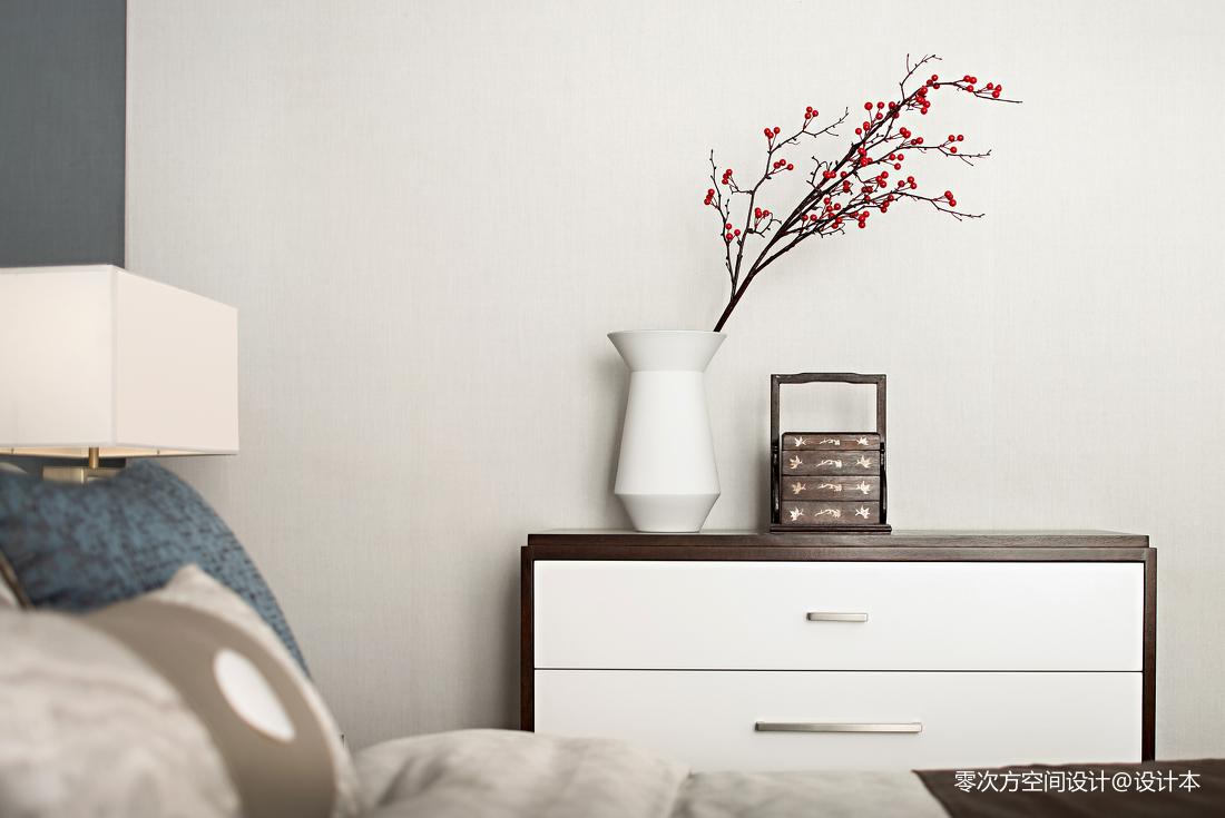精选卧室中式装修图片欣赏卧室床头柜中式现代卧室设计图片赏析