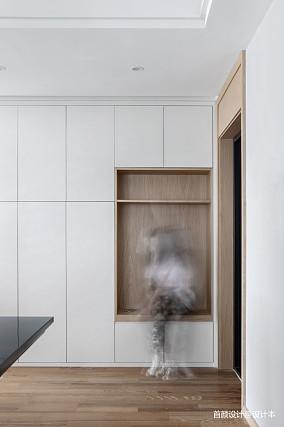 精美北欧三居玄关装修图片欣赏三居北欧极简家装装修案例效果图