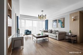 2018面积96平北欧三居客厅装饰图片欣赏三居北欧极简家装装修案例效果图
