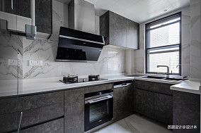 平米三居厨房北欧实景图片大全三居北欧极简家装装修案例效果图