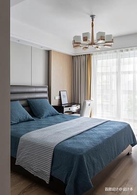 精选面积97平北欧三居卧室装修欣赏图片大全三居北欧极简家装装修案例效果图