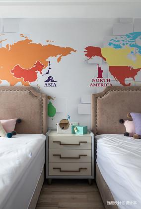 精选三居儿童房北欧装修图片三居北欧极简家装装修案例效果图