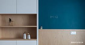 2018面积102平北欧三居儿童房效果图三居北欧极简家装装修案例效果图