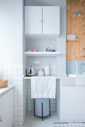 精美83平米北欧小户型厨房欣赏图