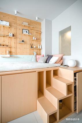 精美北欧小户型卧室装修实景图片大全
