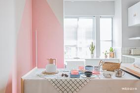 2018精选面积85平小户型餐厅北欧装修图片大全