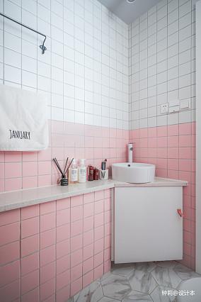 热门80平米北欧小户型卫生间装修欣赏图