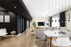 精美面积117平别墅客厅简约装修实景图片大全