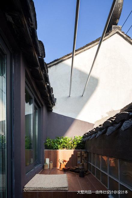 平米中式小户型阳台装修欣赏图阳台