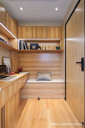 精美73平米中式小户型书房装修欣赏图