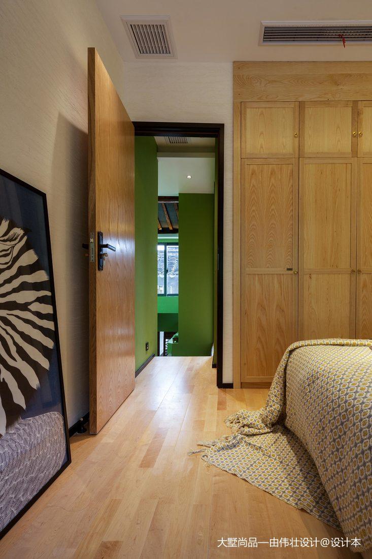 精选面积78平小户型儿童房中式装修图片欣赏卧室中式现代卧室设计图片赏析