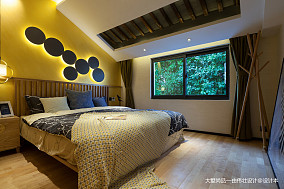 浪漫33平中式小户型儿童房实拍图一居中式现代家装装修案例效果图