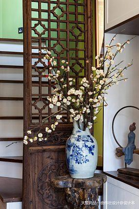 平中式小户型装修图一居中式现代家装装修案例效果图
