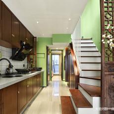 201887平米中式小户型厨房实景图片欣赏