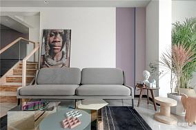 精选123平米北欧复式客厅装饰图片