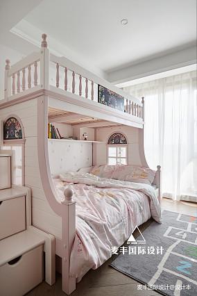 170㎡港式轻奢风格四居儿童房设计图