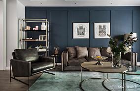 温馨124平美式三居客厅装修装饰图客厅3图美式经典设计图片赏析