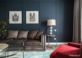 浪漫111平美式三居客厅图片欣赏客厅2图美式经典设计图片赏析