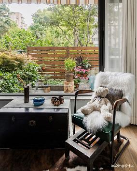 质朴64平混搭二居卧室设计美图