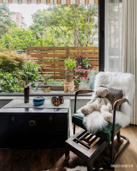 质朴64平混搭二居卧室设计美图卧室