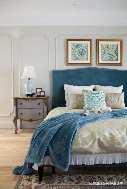 大气152平法式四居卧室效果图片大全卧室