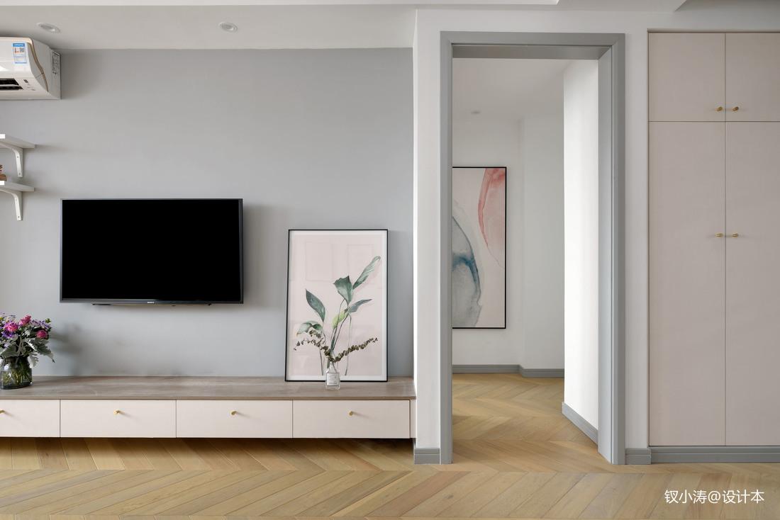 温馨21平北欧小户型客厅装饰图片客厅