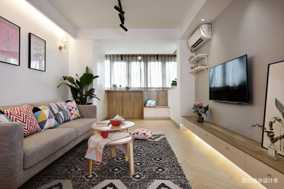 精美39平北欧小户型客厅图片欣赏客厅