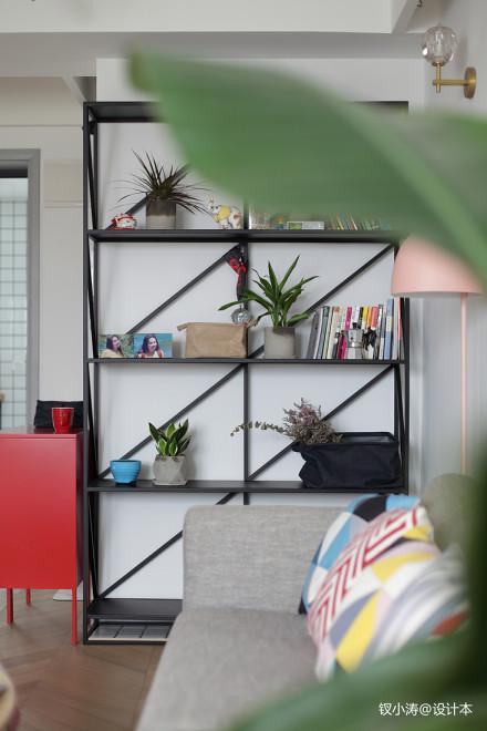 优美31平北欧小户型客厅装修设计图客厅
