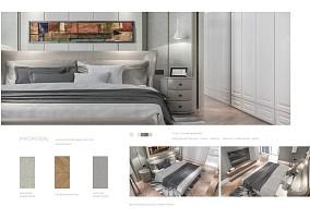 质朴360平法式复式卧室美图