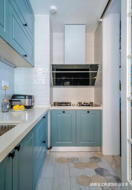 优美73平北欧二居厨房装饰图片餐厅