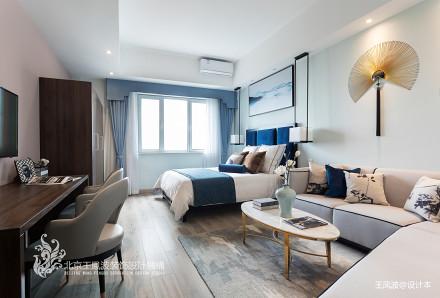 典雅22平新古典小户型卧室设计图
