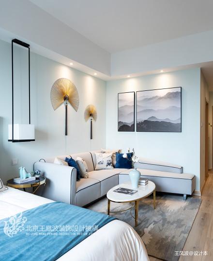 华丽35平新古典小户型客厅设计美图