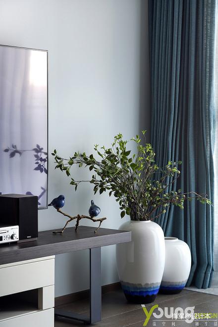 华丽83平中式三居客厅实景图