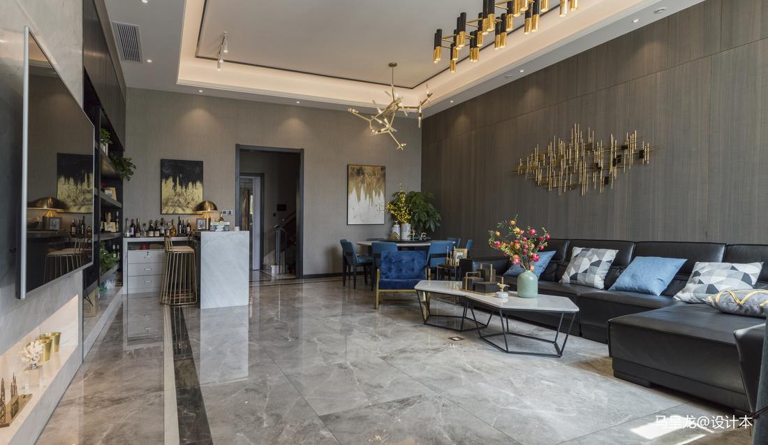 质朴301平简约别墅客厅装修图片客厅沙发现代简约客厅设计图片赏析