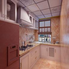 质朴85平田园二居厨房图片欣赏