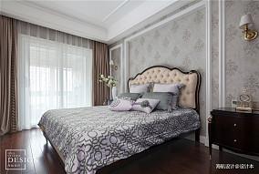 简洁144平欧式四居卧室实景图