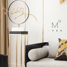 优美102平中式三居客厅装修美图